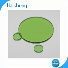 LB6 green optical glass filters